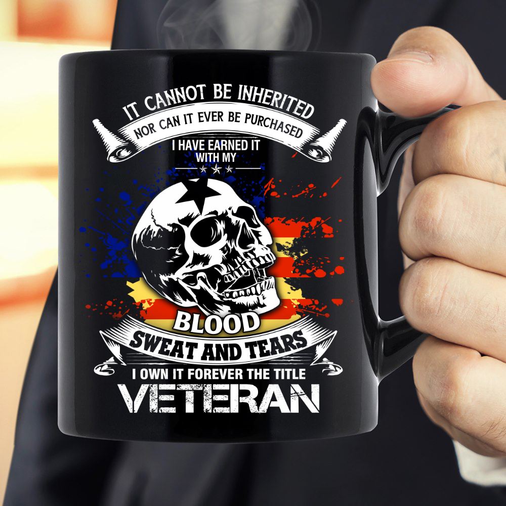 I Own It Forever The Title Veteran Mug - ATMTEE