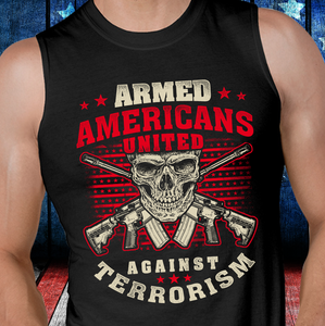 Armed Americans United Against Terrorism Tank - ATMTEE