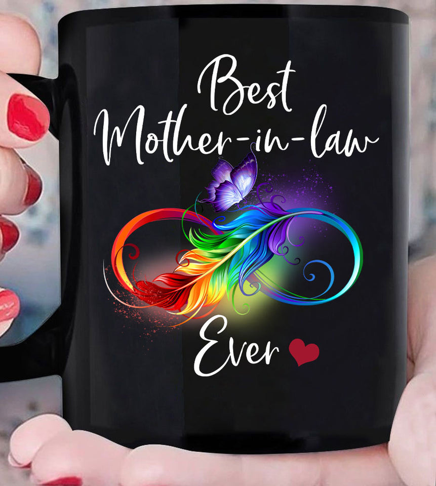 Gift Ideas For Mother-in-law, Mother Mug, Gifts From Daughter In Law, Mother's Day, Best Mother-in-in Law Ever Mug - ATMTEE