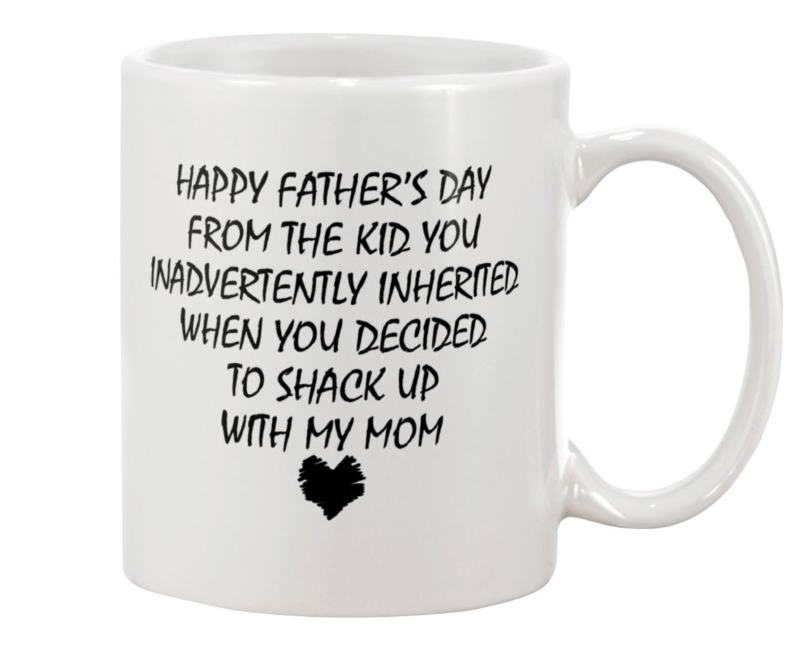 Happy Father's Day From The Kid, Father's Day Gifts Mug Idea, Gifts For Dad Mug - ATMTEE