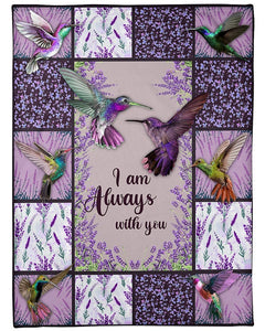 I Am Always With You Fleece Blanket - ATMTEE