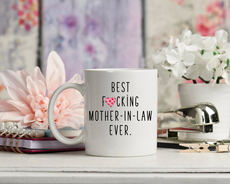 Mother Mug, Mother In Law Gift, Best Mother-In-Law Ever Mug, Gift Ideas For Mother's Day - ATMTEE