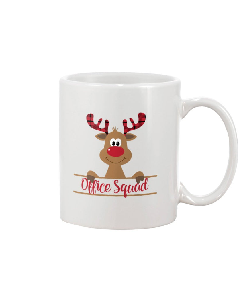 Office Squad White Mug - ATMTEE