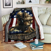 Veteran Blanket Honoring Our Heroes Remember Their Sacrifice ATM-USBL80 Fleece Blanket - ATMTEE