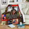 Veteran Blanket You Are A Veteran And Always Will Be ATM-USBL86 Fleece Blanket - ATMTEE