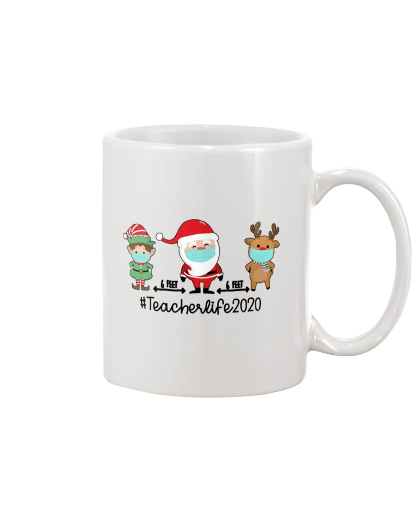 Teacher Christmas White Mug - ATMTEE