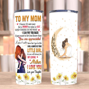 Personalized To My Mom Tumbler, Gifts For Mom, Mother's Day Gifts Idea, Birthday Gifts For Mom Stainless Steel Tumbler - ATMTEE