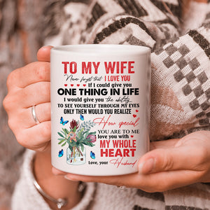 Valentine Day Gift For Wife From Husband, Never Forget That I Love You Mug - ATMTEE