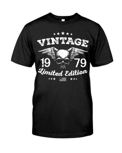 Vintage 1979 Limited Edition V4, Birthday Gifts Idea, Gift For Her For Him Unisex T-Shirt KM0704 - ATMTEE