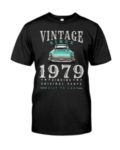 Vintage Car Since1979, Birthday Gifts Idea, Gift For Her For Him Unisex T-Shirt KM0804 - ATMTEE