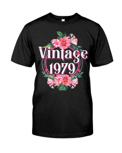 Vintage 1979 V2, Birthday Gifts Idea, Gift For Her For Him Unisex T-Shirt KM0804 - ATMTEE