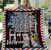 Female Veterans - A Veteran's Strength Is Measured By The Size Of Her Heart Fleece Blanket - ATMTEE