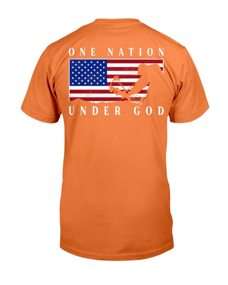 One Nation Under God T-Shirt - ATMTEE