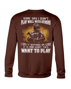 What They Want To Play Crewneck Sweatshirt - ATMTEE