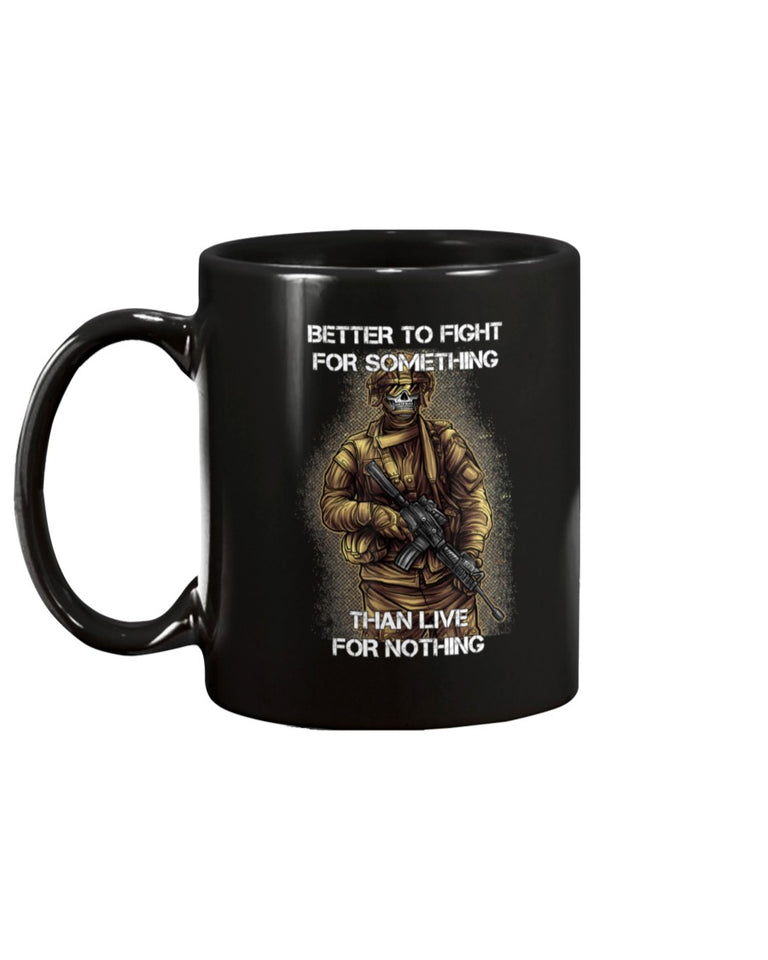Motivation For Combat Soldier Quote Veteran Saying Mug - ATMTEE