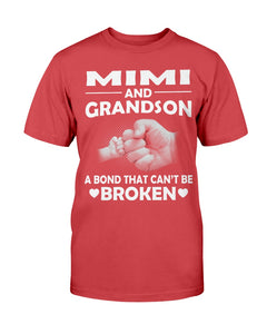 Mimi And Grandson A Bond That Can't Be Broken T-Shirt - ATMTEE