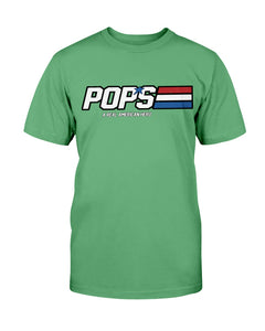 Pops - A Real American Hero T-Shirt - ATMTEE