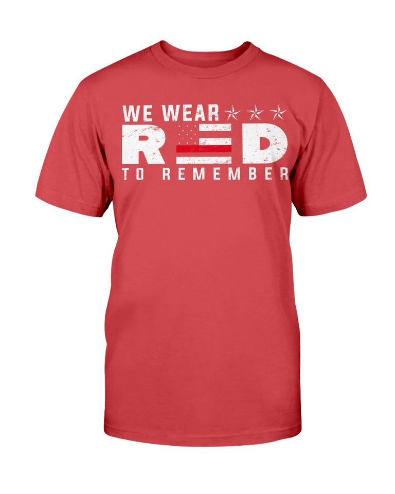 We Wear RED To Remember - ATMTEE