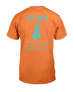 PTSD Awareness Shirt Time To Live Well Raise Awareness T-Shirt - ATMTEE