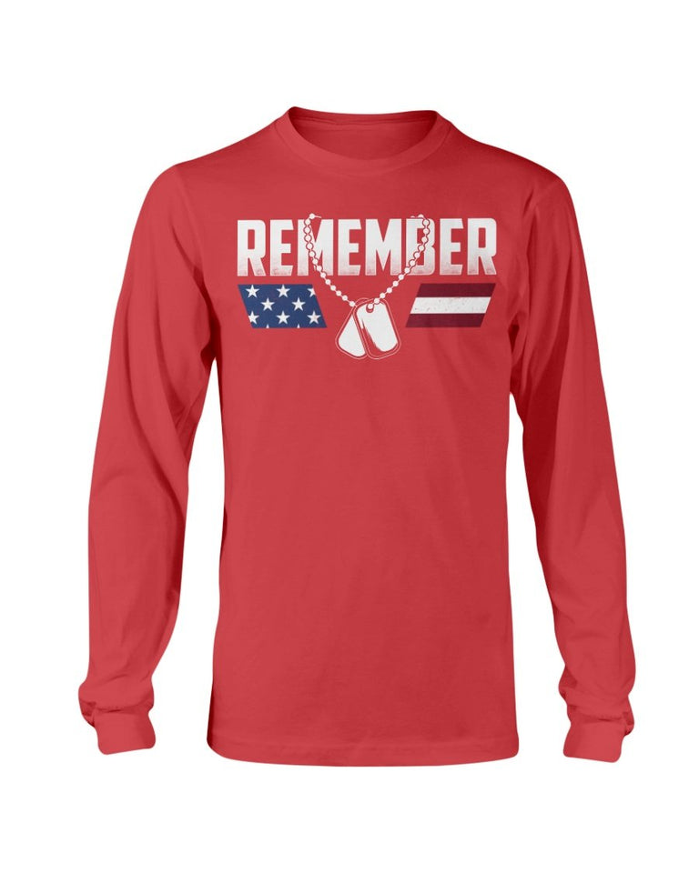 Red Friday: REMEMBER Logo - ATMTEE
