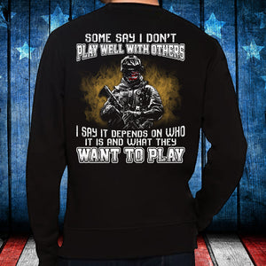 What They Want To Play Crewneck Sweatshirt