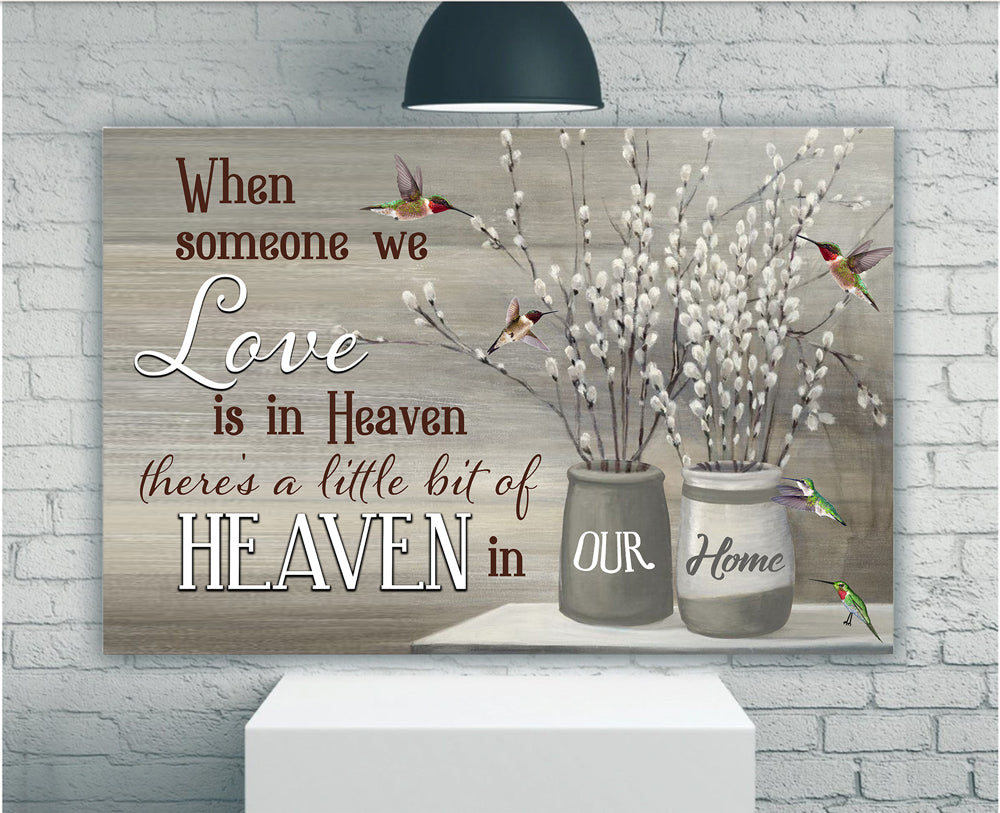 When Someone We Love Is In Heaven Matte Canvas - ATMTEE
