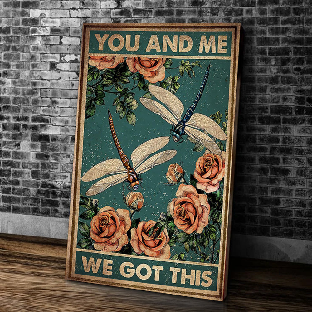 You And Me We Got This Matte Canvas - ATMTEE