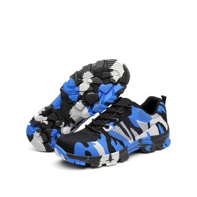 Camouflage Blue - Indestructible Shoes