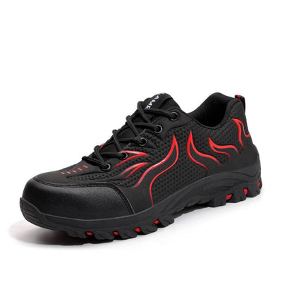 FlameX Black Red - Indestructible Shoes