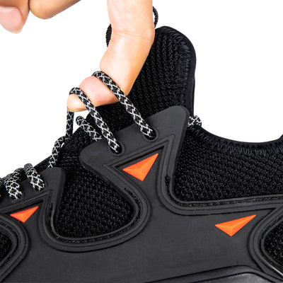 Safety Black - Indestructible Shoes