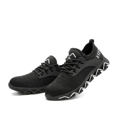 Ziczac Black White - Indestructible Shoes