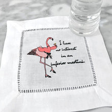 Load image into Gallery viewer, Cocktails with Patricia Limited Edition Linen Napkins