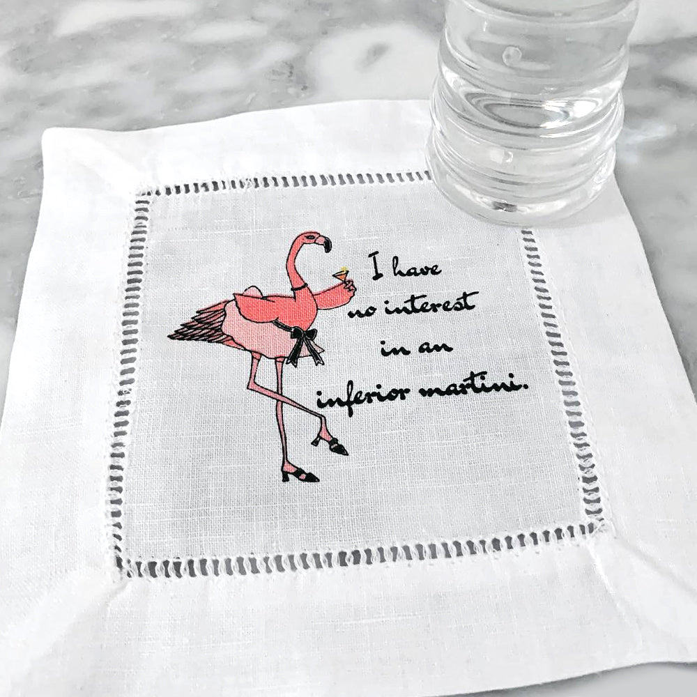 Cocktails with Patricia Limited Edition Linen Napkins