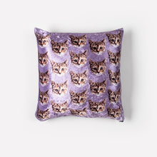 Load image into Gallery viewer, Custom Pet Pillow Cover - Crushed Velvet