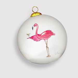 Limited Edition 2018 Flamingo Holiday Ornament