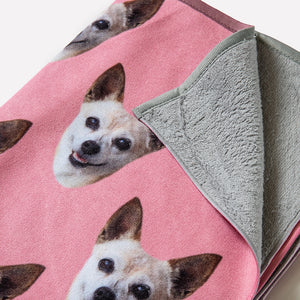 Custom Pet Yoga Towel
