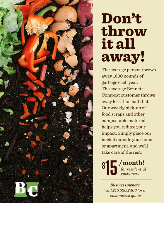 Compost Now Available: $10 for a 5-gallon bucket