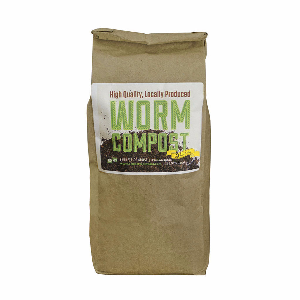 Worm Compost (Vermicompost) - 2 Lb Bag
