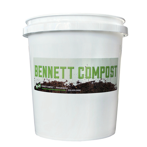 Residential Composting WITH a second bucket (allowing up to 10 gallons per week) - Pay Annually & Get 1 Month Free!
