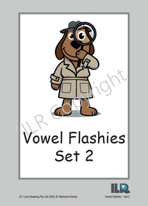 ILR Vowel Flashies Bundle