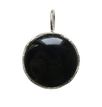 Load image into Gallery viewer, KARMA CHARM - BLACK SILVER.