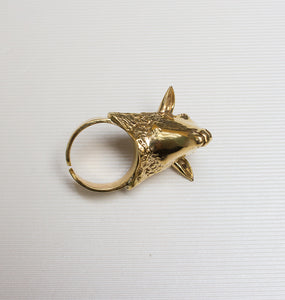 LAMB RING BRASS.