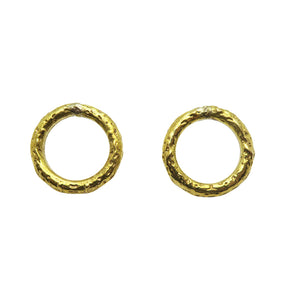 ACE EARRINGS BRASS.