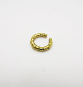 ICE EAR CUFF - BRASS.