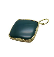 Load image into Gallery viewer, KARMA CHARM - GREEN BRASS.