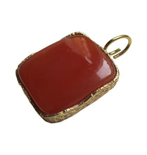 Load image into Gallery viewer, KARMA CHARM - RED BRASS.