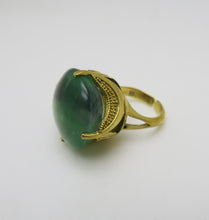 Load image into Gallery viewer, MAURITZ GREEN RING.