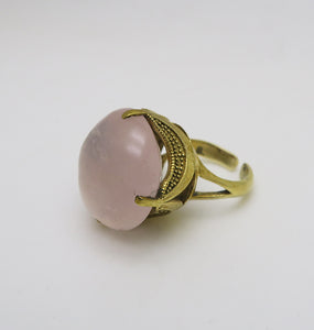 MAURITZ PINK RING.
