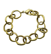 Load image into Gallery viewer, NO STRINGS BRACELET- BRASS.