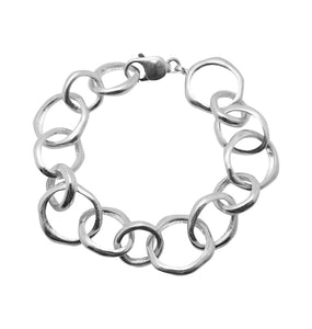 NO STRINGS BRACELET - SILVER.